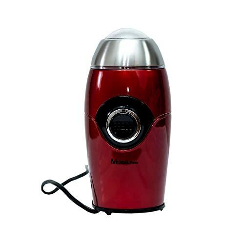 Maxell Power CE Molinillo DE Cafe ELECTRICO Especias Grinder MOLEDOR Rojo Brillo 200W Garantia (Rojo)