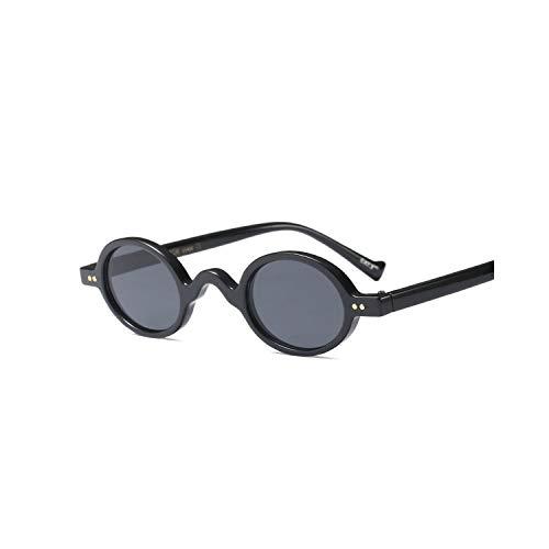 Gafas Deportivas, Pesca Gafas De Golf, Tiny Sunglasses Women Round Black NEW Summer Pink Blue Leopard Small Round Sun Glasses For Men Vintage Uv400 as show in photo full black