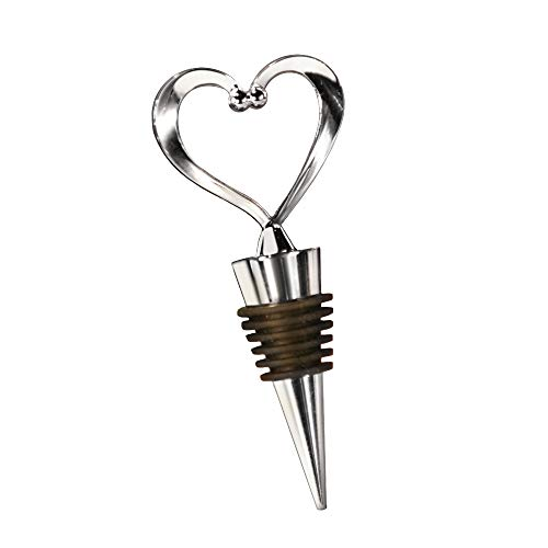 Heart Wine Bottle Stoppers - 24 count