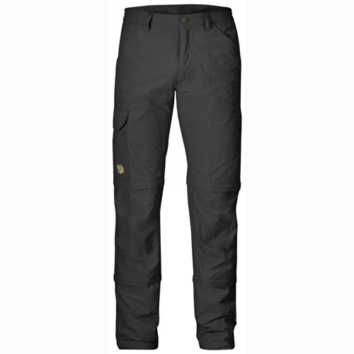 FJÄLLRÄVEN Herren Cape Point MT 3 Stage Zip Off Trekkinghose, Dark Grey, 44