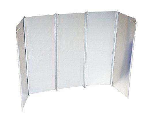 Bo-Camp 1509225_Gris Pareja de protección de cocción, Plata, 26 x 49 cm