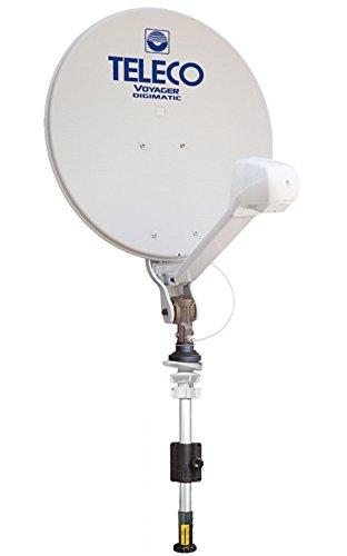 Antena parabólica tv satélite caravana autocaravana Voyager digimatic 65 Teleco