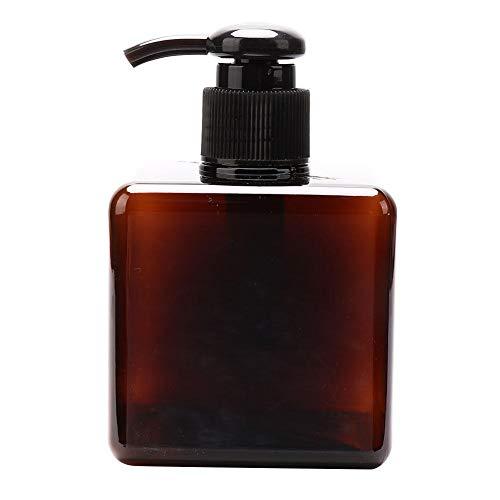 Cosmetische pompfles, Akozon 250 ml lege lotiondispenser Fles Container Pompflessen voor shampoo Conditioner Lotions Reizen Thuisgebruik(250ml bruine lotionfles)