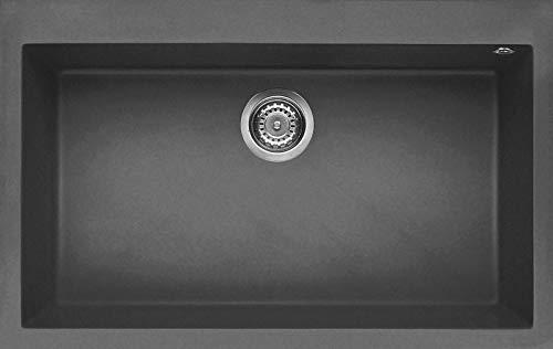 en Pierre 116/x 50/x 21/cm Elleci Living 500/- /Évier 2 bacs Anthracite G59