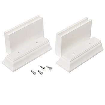 Zenna Home 9319WKT Kit Leg Extension White