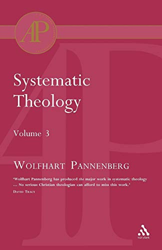 Systematic Theology Vol 3 (Academic Paperback)