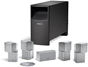 Bose Acoustimass 10 Series IV home entertainment speaker system - Silver (Discontinued by Manufacturer)