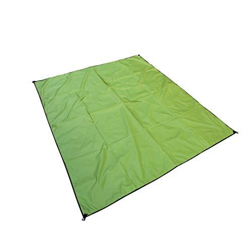 FOBFLO Picknickdecke Stranddecke wasserdichte, Sandabweisende Campingdecke, Tragbare Campingmatte Ultraleicht Kompakt Wasserdicht Und Sandabweisend (Color : Green, Size : 210 * 300cm)