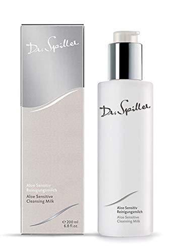Dr. Spiller - Aloe Sensitiv Reinigungsmilch | Reinigt & Beruhigt die Haut | Befeuchtende Wirkung | Mit wichtigen Nährstoffen für die Haut | Säureschutzmantel stärken | Schützt vor Umwelteinflüssen