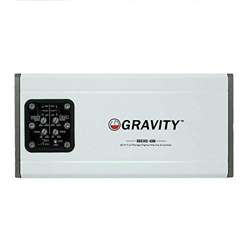 Gravity GBR300.4DM True 600-Watt RMS Micro Ultra Compact...