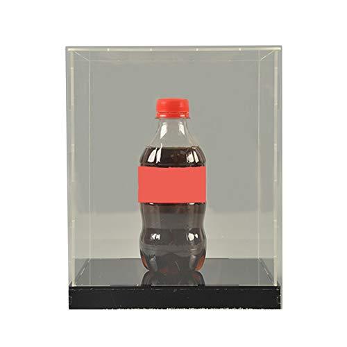 LM-Coat rack XINGLL Acrílico Vitrina Transparente, Caja Protección Prueba Polvo, Tienda, Museo, Sala Juegos, Cubo Extraíble, para Figuras Coleccionables Regalos Modelos Muñecas Almacenamiento