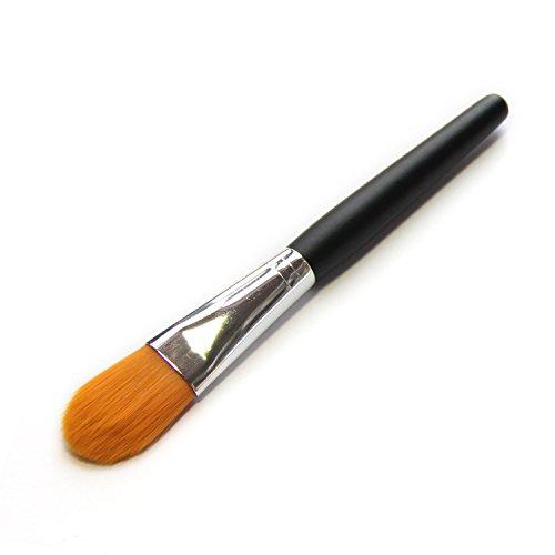 yotijar Pro Flat Brush Foundation Maquillage Cosmétiques Brosse Manche En Bois