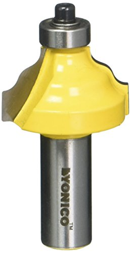 Yonico Router Bits Edge Forming Wavy 3/8-Inch 1/2-Inch Shank 13125
