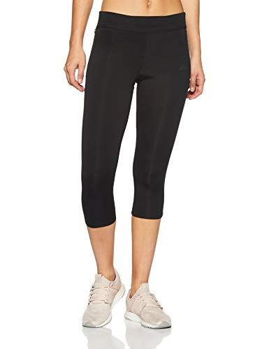 adidas Women's Response Three-Quarter Tights (Black/Black, S)