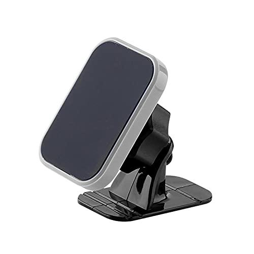 Soporte universal para teléfono móvil para coche, rotación de 360 grados, soporte magnético para teléfono móvil, rejilla de ventilación para coche, color gris