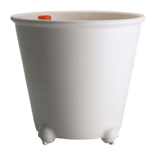 Ikea PS FEJO - Self-Watering Plant Pot White - 32 cm