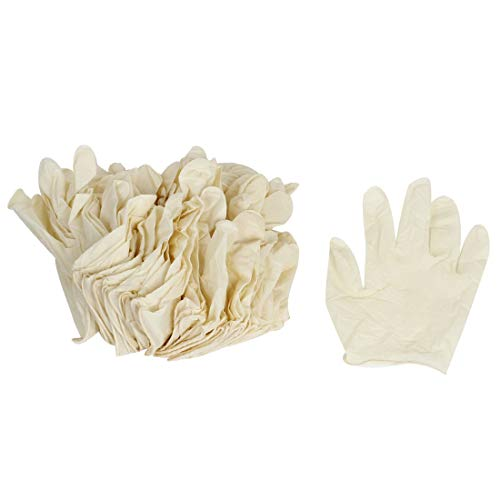 New Lon0167 L-a-tex - Vorgestellt Schutz - E-i-nweg zuverlässige Wirksamkeit - Anti (Lieferung innerhalb von 15-25 Tagen) - Statik - ESD - Handschuhe 50 Paar Beige(id:5ac 03 b6 ee5)