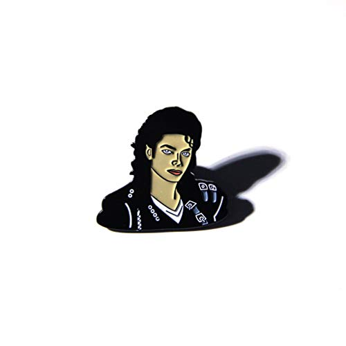 follwer0 Frauen Brosche Stifte Figur Gesicht Emaille Stifte Packtasche Jacke Pullover Schal Clips Broschen Anstecknadel Abzeichen