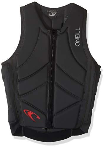 O'Neill Wetsuits Men's Slasher Comp Life Vest, Black, Medium