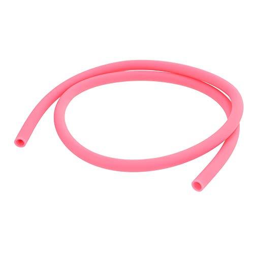 AO® Shisha Schlauch - Silikonschlauch Matt In Rosa - 150 cm Länge - Passend Für Alle Shisha Adapter & Shisha Mundstücke - Soft-Touch Oberfläche