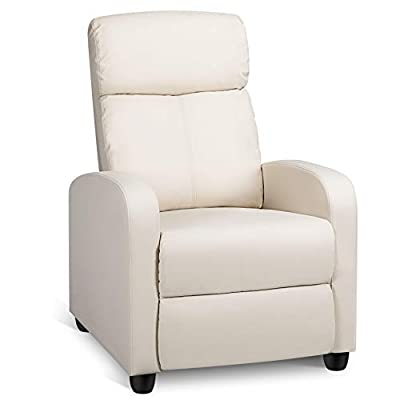Topeakmart Recliner Chair Sofa Home Theater Seating Child Recling Living Room Chair