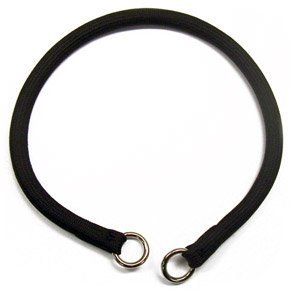 Coastal Pet Products Round Nylon Black Choke Collar for Dogs, 3/8 By 24-inch