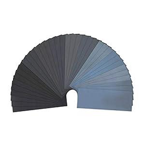 LANHU 120 To 5000 Assorted Grit Sandpaper … (36 Pcs)