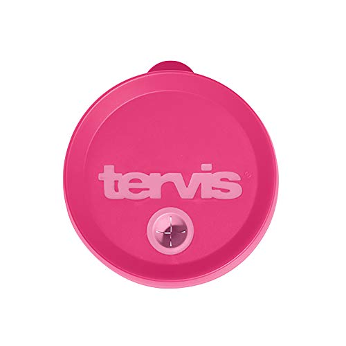 Tervis Straw Lid, Passion Pink, Fits 24oz Tumblers & 16oz Mugs