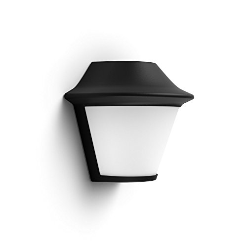 Philips Lighting Mygarden Serres Black Wall Light -