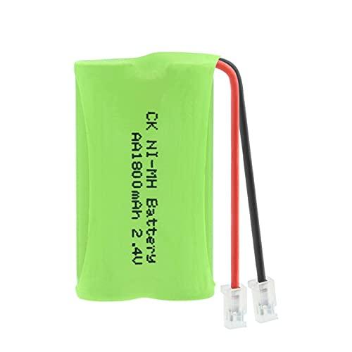HTRN Batería De 2.4v 1800mah 2 * AA Ni-Mh, Paquete De Batería Recargable del Conector Universal del Paquete