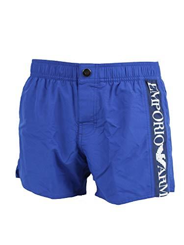 Emporio Armani 2117420P425 - Bañador tipo bóxer, color azul cobalto 50