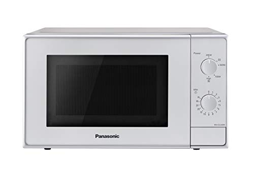 Panasonic NN-E22JMMEPG Mikrowelle 800 W, 20 Liter, 46 Decibel, Silber