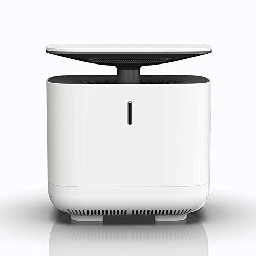 ETH Hogar USB silencioso Pensando Mosquito biónico 5W de Alta Potencia Ventilador de 8 Hojas UV-LED Onda de luz Cubierta de Malla Anti-Escape Inteligente Matador de Mosquitos físico Exquisito