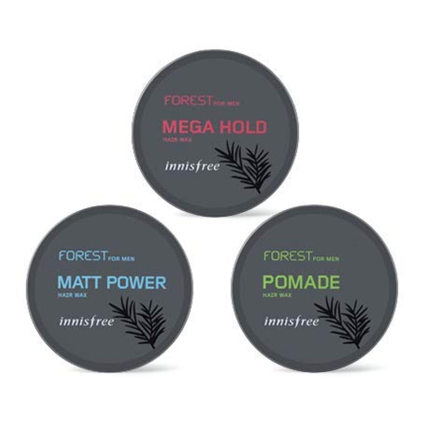 戦争泣いているシダ[イニスフリー.INNISFREE](公式)フォレストフォアマンヘアワックス(3種)/ Forest For Men Hair Wax(60G、3 kind) (# mega hold)