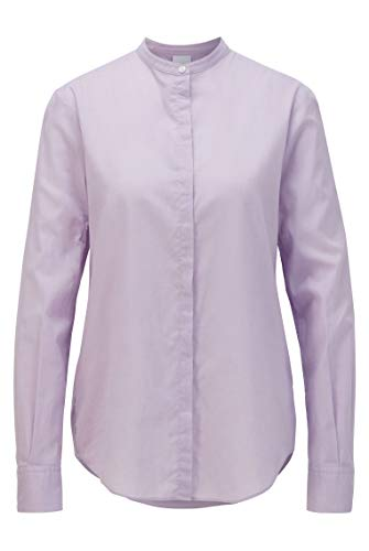 BOSS Damen Efelize_17 Bluse, Violett (Light/Pastel Purple 531), 40 EU
