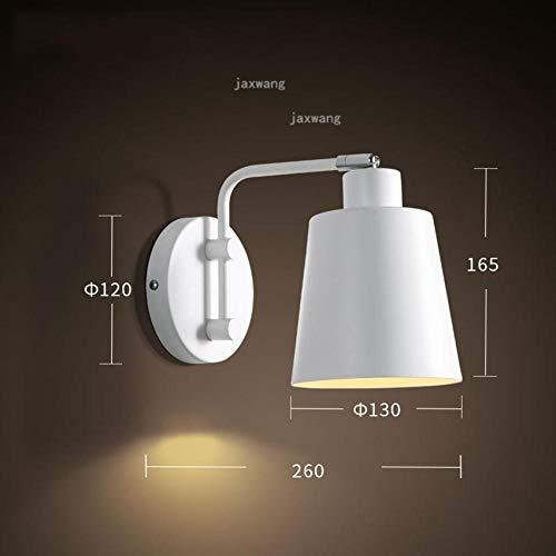 Moderne led-wandlamp, nordic bed, ijzer, verstelbaar, wandlamp, slaapkamer, decoratieve lamp, feestspiegel, keuken accessoires