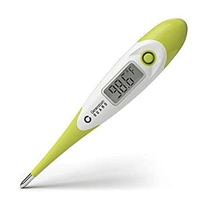 Medical Digital Thermometer for Baby, Kids & Adults ~ Accurate 15 Second Read with Latest Chip Technology ~ Provides Oral, Underarm & Rectal Temperatures, Waterproof, by Generation Guard