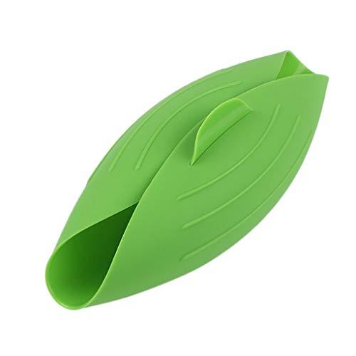 Silikon-Brotmacher, Backform Brotbackform Brotbackschale Backen Backblech Antihaft-Mikrowellen-Gemüse-Dampfer, Brotschüssel, Backform für hausgemachtes Brot (Green, 24.5 x 22 x 9cm)