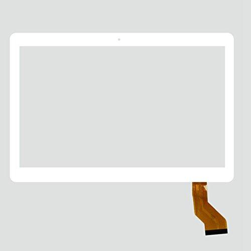 Blanco Color EUTOPING ® De Nuevo 10.1 Pulgadas Pantalla tactil Digital La sustitución de para 10.1 Prixton T1800Q+