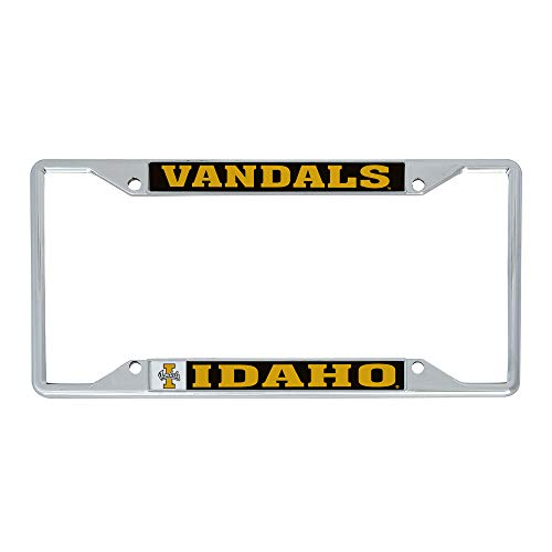 Desert Cactus University of Idaho Vandals NCAA Metal License Plate Frame for Front Back of Car Officially Licensed (Mascot)