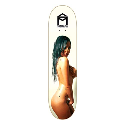 SKATE MAFIA Skateboard Deck - GIRLS SERIES - WET 2 - 8in by Skate Mafia