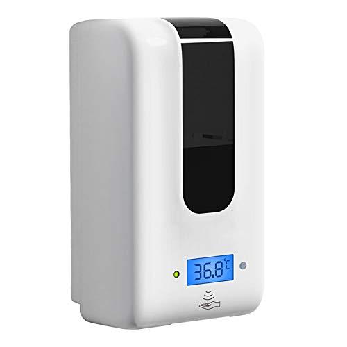 SeaYork 1200ml dispensador de jabón sin Contacto dispensador automático de jabón sin Contacto Dispositivo de Lavado de Manos infrarrojo Inteligente Spray