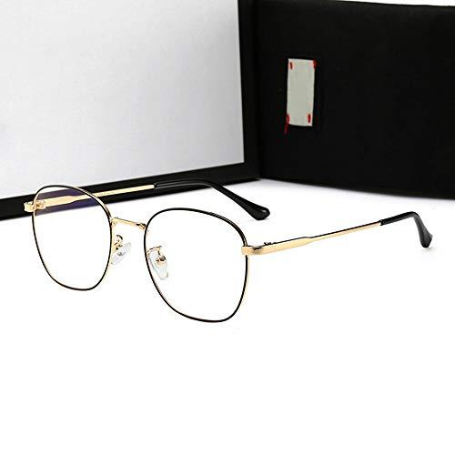 N/F TEYUN Gafas de sol unisex antiazules, clásicas, de moda, deportivas, sin graduación, gafas ópticas