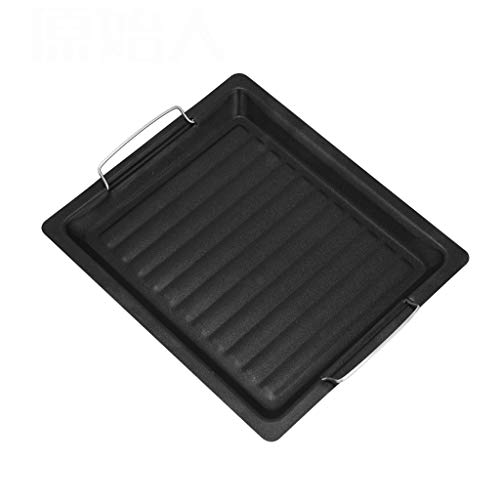 Baking Sheet Barbecue Tool Accessories Household Barbecue Dish Non-stick Frying Pan Outdoor Barbecue Tray 3025cm Bakeware