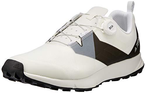 adidas Herren Terrex Two Boa Trekking- & Wanderhalbschuhe, Weiß (Nondye/Transl/Negbás 000), 44 EU