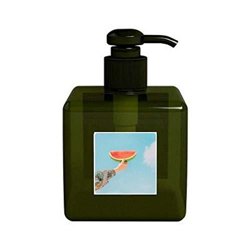 Ciel azul sandía Science Nature Decors Bomba de botella dispensador de jabón líquido