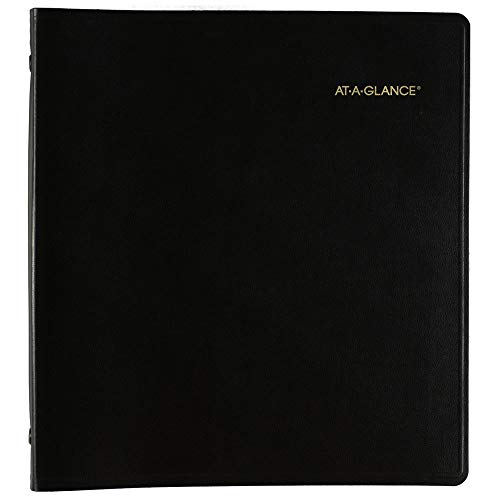 ATAGLANCE Monthly Planner 3 Year January 2018  December 2021 9quot x 11quot Black 7023605