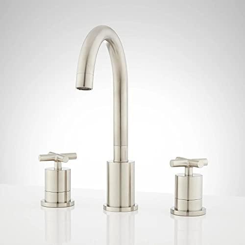 Signature Hardware 922093 Exira Widespread Bathroom Faucet - Overflow