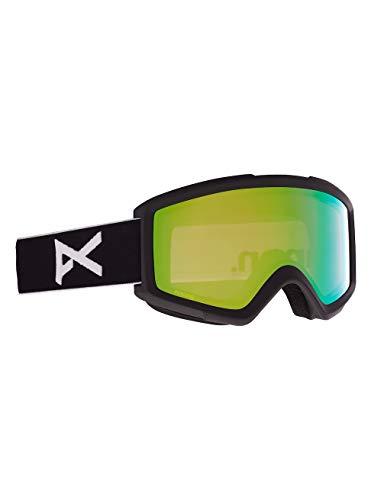 Anon Herren Helix 2.0 Snowboard Brille, Black/Perceive Variable Green