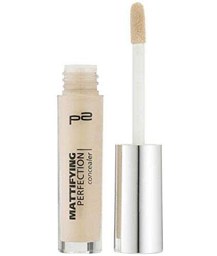 p2 cosmetics Mattifying Perfection Concealer 025, 3er Pack (3 x 3 ml)